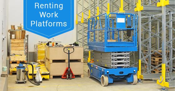 Renting Work Platforms