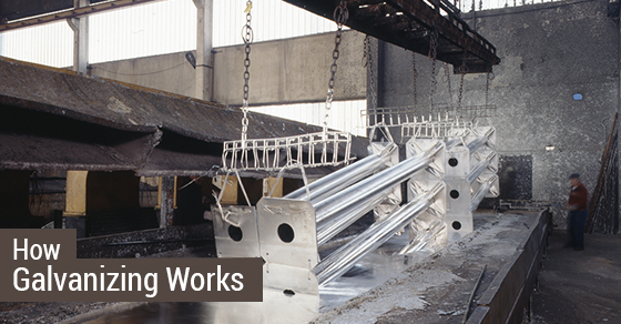 How Galvanizing Process Works