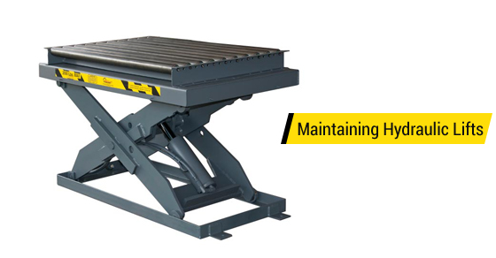 Maintain Hydraulic Lift Table