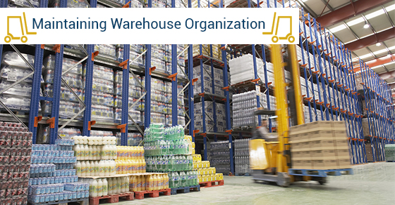 Tips For Keeping Warehouse Organized