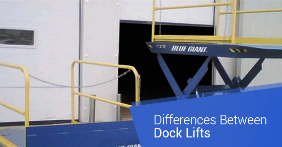 Differences Between Dock Lifts