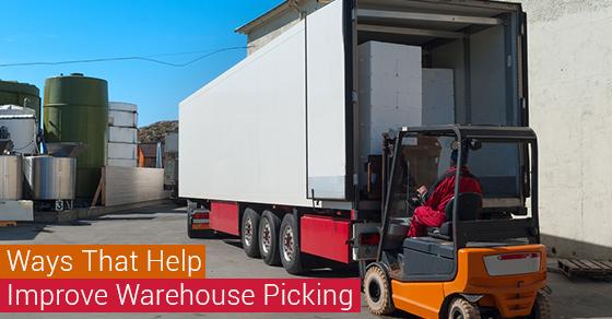 Ways That Help Improve Warehouse Picking