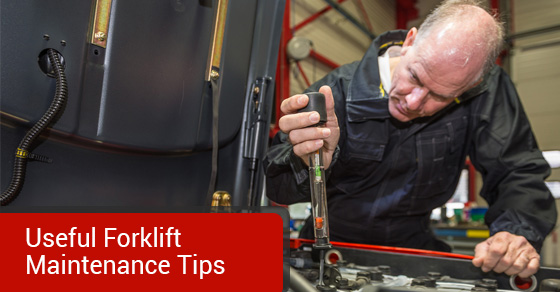 Useful Forklift Maintenance Tips