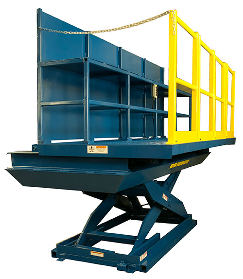 Lift Table with Sliding Platform