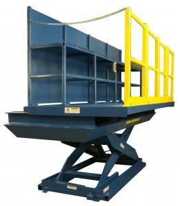 Sliding top lift table